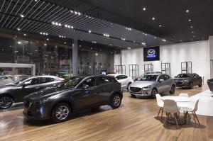 Vitrina de ventas Mazda