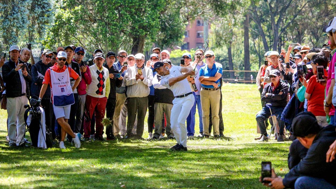 Villegas brilla en el inicio del Country Club de Bogotá Championship